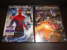THE AMAZING SPIDER-MAN 2 w/Dig Code to 12-31-17 & TRANSFORMERS REVENGE OF FALLEN