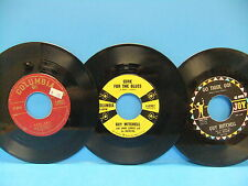 Guy Mitchell 45 LOT Rock A Billy Columbia 40877 Go Tiger Joy270 Call Rosie 40987