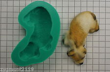 Sugarcraft Moulds Cake Decorating Silicone Molds Crafts Resting Dog (2129)