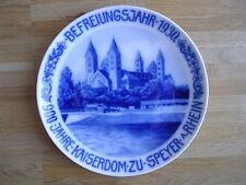 Hutschenreuther Wandteller Wall Plate Kaiser- und Mariendom zu Speyer 1930