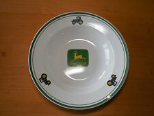 Gibson JOHN DEERE TRACTOR Set of 4 Rimmed Bowls 9""