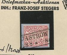 Pr Vor / JASTROW idealer Ra2 auf Pracht-Briefstück m. NDP 16