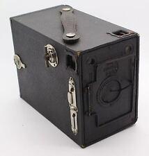 BOX ENSIGN 2 1/4 B BOX 120 accendi la telecamera con custodia con rara Copriobiettivo – GC/TESTATA