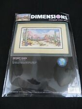 DIMENSIONS #3190 - DESERT HUES - STAMPED CROSS STITCH KIT - 2000