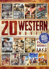 20 Western Movies Collection, Vol. 4 (DVD, 2014, 4-Disc Set) Brand New