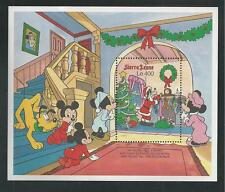 SIERRA LEONE # 1299 MNH DISNEY The Night Before Christmas Souvenir Sheet