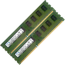 4GB 2x2GB DDR3 PC3-10600U 10600 DDR3-1333 MHZ CL9 MEMORY PC DESKTOP RAM 240 PIN