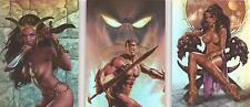 """Warlord of Mars - """"Martian Heroes"""" 3 Card Chase Set WM-MH1-3"""