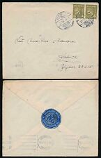 FINLAND 1946 WAR WOUNDED FUND SEAL CHARITY on ENVELOPE