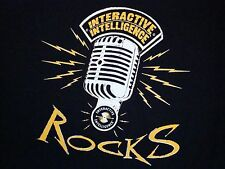 Interactive Intellegence Rocks Radio Show Black T Shirt L
