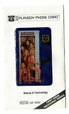 Playboy Phone Card First Issue Inaugural Series Ltd #556 25 Units