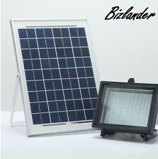 Lithium Battery 10 Watts 108LED Solar Powered Flood Light Sensor Security Light