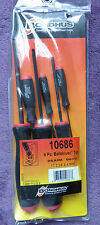 Bondhus 6 pc Screwdriver Hex Metric Ball End Key Lifetime Warranty BSX6M 10686
