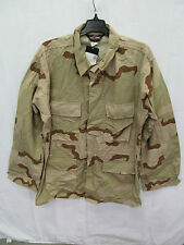 TRU SPEC US MILITARY 3 COLOR DESERT CAMO BDU JACKET SIZE LARGE LONG EB0602