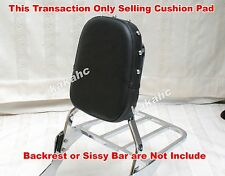 DIY Chrome Studded CUSHION PAD for Sissy Bar Backrest Honda Shadow ACE VT750 400