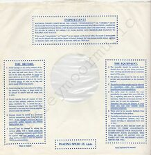 "Vintage INNER SLEEVE or SLEEVES 12"" IMPORTANT! THE RECORD EQUIPMENT dots v7 x 1"