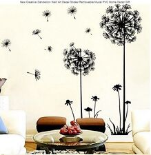 Dandelion Wall Stickers Removable Mural PVC Decal for Home Decor