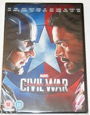 Marvel Captain America 3 Civil War DVD - REGION 2 - NEW UNOPENED!!!