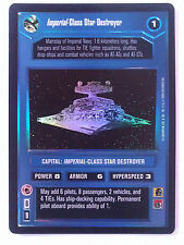 Star Wars ccg Imperial-Class Star Destroyer Ultra Rare UR tournament foil M/NM