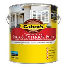 CABBOTS BY DULUX 2 LITRE TIMBERCOLOR EXTERIOR LOW/SHEEN INDIAN-RED COLOUR PAINT
