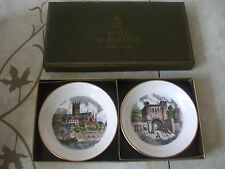 Royal Worcester Bone China Boxed Pair of Pin Trays Made of Kay & Co