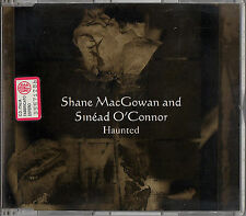 SHANE MACGOWAN & SINEAD O'CONNOR haunted +3tracks CD Single Pogues Popes