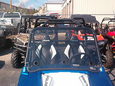 "Polaris RZR,RZR S,570,900,RZR 4 Clear Full Vented Windshield -1/4"" THICK Lexan"