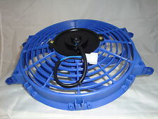 """New Blue Colour HIGH PERFORMANCE 10"""" INCH THERMO FAN electric fan 12V"""