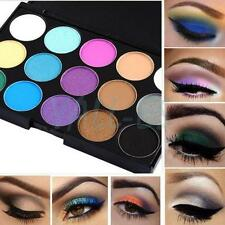 Pro 15 Color Cosmetic Makeup Natural Eye Shadow Eyeshadow Cream Palette Set Kit
