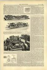 1893 Sheffield Car Company Three Rivers Mich Radial Truck