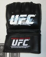 Bill Wallace Kathy Long Signed Official Fight Glove PSA/DNA COA UFC 1 Announcers