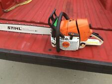 "STIHL MS 461  CHAINSAW GOOD CONDITION NO RESERVE  MS461 25"" BAR AND CHAIN"