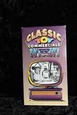 CLASSIC TOYS COMMERCIALS OF THE 50's & 60's~ VHS