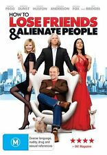How To Lose Friends And Alienate People (DVD, 2009), R 4, LIKE NEW,FASTPOST.1302