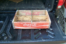"VINTAGE WOODEN COCA COLA CRATE BOTTLE CARRIER 18 1/2"" X 12"""