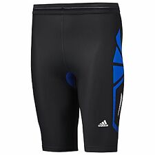 NEW MENS ADIDAS TECHFIT RECOVERY COMPRESSION SHORT TIGHT ~ XS ~ #O53038