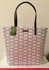Nwt Kate Spade Cold Comforts Polar Bear Bon Shopper Tote Bag