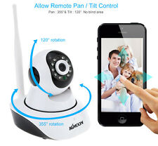 KKMOON 1080P HD 2MP Camera P2P Pan Tilt IR Cut WiFi Wireless Network IP Webcam