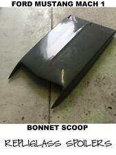FORD MUSTANG MACH 1 BONNET SCOOP BOSS STYLE ALSO UNIVERSAL