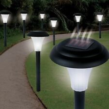 Set of 8 Solar Accent Lights - Cordless No Wires or Electricity Required