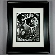 Edwin Hubble at Palomar Observatory Schmidt Telescope Print (Matted Framed NEW)