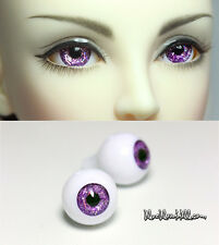 14mm acrylic doll eyes dream purple full eyeball bjd dollfie #AE-59