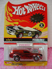 RLC 2003 Neo-Classics #3 POISON PINTO ☆RED ☆redlines ☆hot wheels