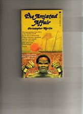 THE AMISTAD AFFAIR - CHRISTOPHER MARTIN - VINTAGE - USA  P/BACK-1970 - SLAVES