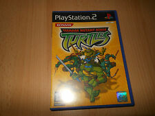 TEENAGE MUTANT NINJA TURTLES  PS2 PAL FREE UK POST
