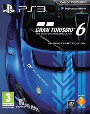 Gran Turismo 6 -- Anniversary Edition (Sony PlayStation 3, 2013)