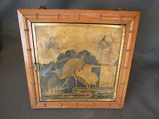CADRE MIROIR TRIPTYQUE ANCIEN ancien miroir 3 faces napoleon 3