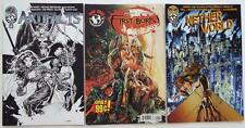 3  Top Cow Comics   ARTIFACTS #2    FIRST BORN #1   NETHER WORLD #1