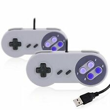 2x Usb Snes Gamepad / Controlador Para Pc / Notebook / Tablet | Retro Desig