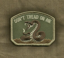 DON'T TREAD ON ME MULTICAM TACTICAL COMBAT BADGE MORALE VELCRO MILITARY PATCH
